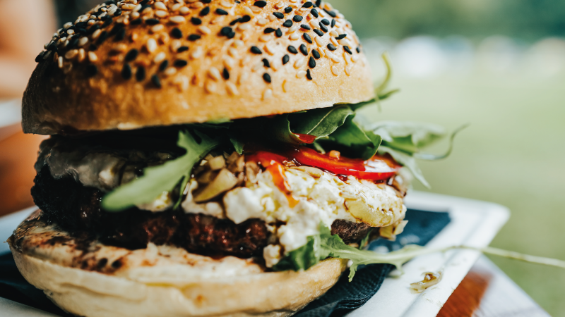 Hamburger à l'italienne.