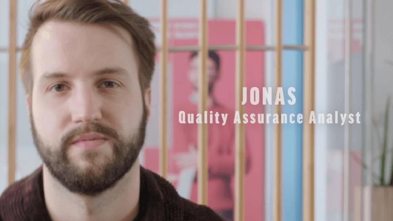 My job in 60 seconds: Jonas